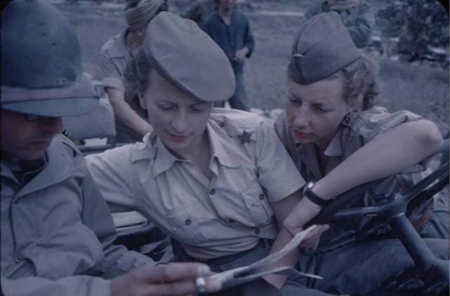 二战女兵照片: 法国、美国颜值爆表, 苏联女兵战斗值爆表