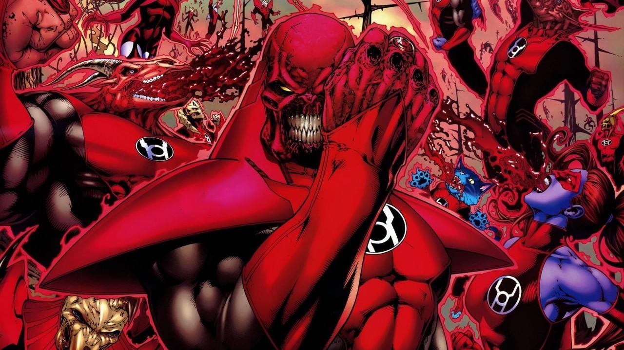 DC红灯军团做过最可怕的6件事,手撕绿灯侠,斩首宇宙守护者!