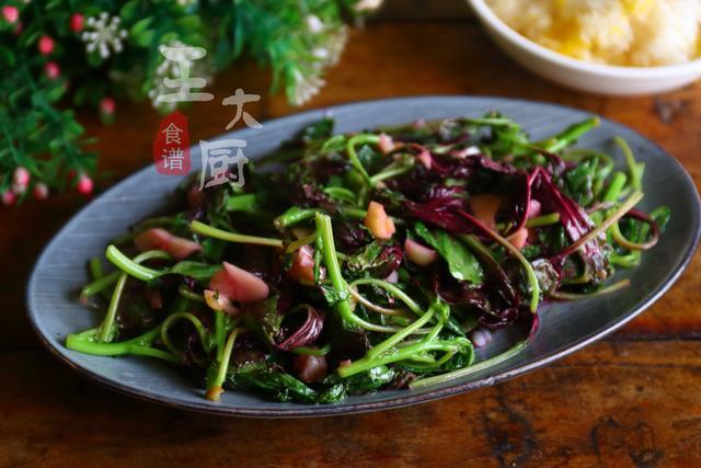 清炒苋菜的小窍门,这样炒出来营养更容易保留,味道还鲜美