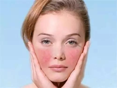 经常到美容院洗脸导致皮肤松驰