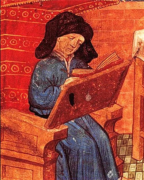 法国中世纪最重要的作曲家马肖