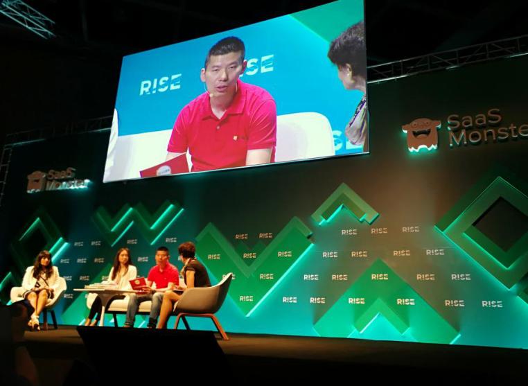 火花思维CEO罗剑亮相RISE科技盛会,推出AI数理思维课