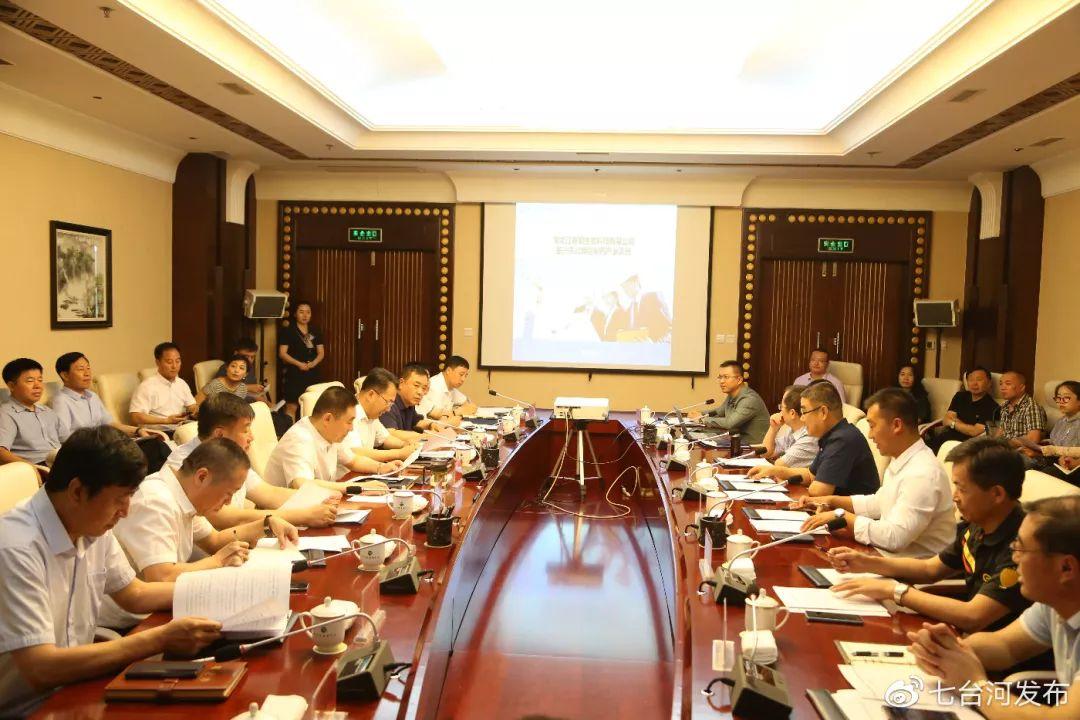 七台河市人民政府与北京泰银公司项目建设推进会议召开