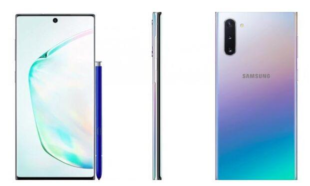 三星galaxy note2蓝_三星Galaxy Note 10正面渲染图曝光:银紫蓝渐变风,屏幕居中挖孔_手机
