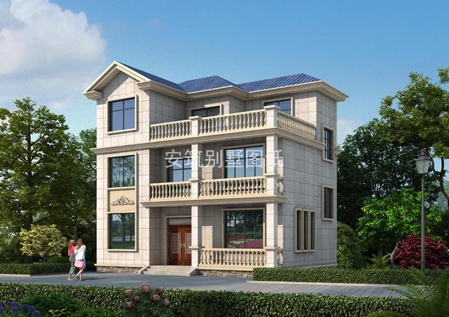 农村90平方米小别墅设计图,主体建成30万不到,农村建房别错过了