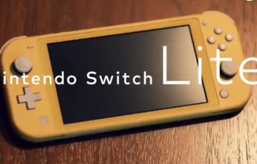 """""""任天堂是世界的主宰!""""Nintendo最新机型Switch Lite正式发布!"""