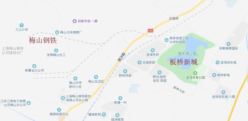 南京梅山规划图