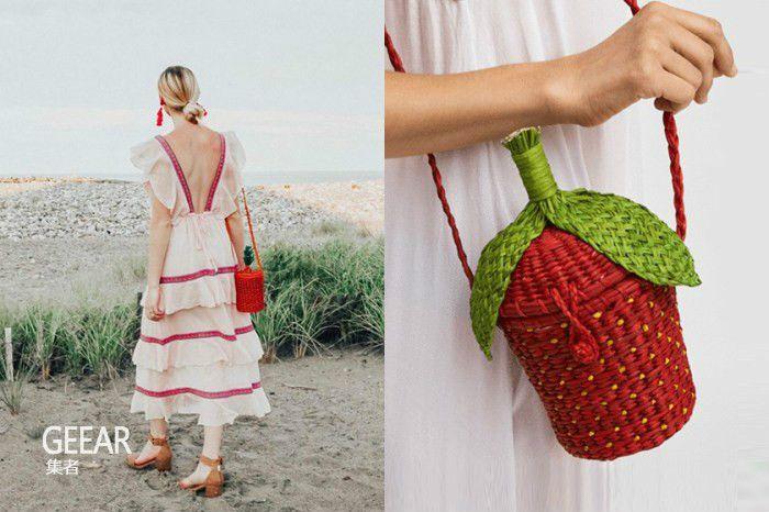 这款大S在节目中用过的单品草莓草编包,让小S嫉妒不已! v118.com