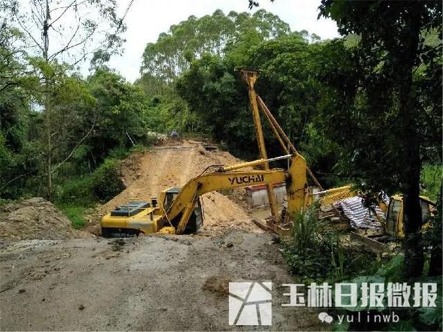 注意啦!陆川往玉林方向这个地方修桥,7条绕行路线已整理好