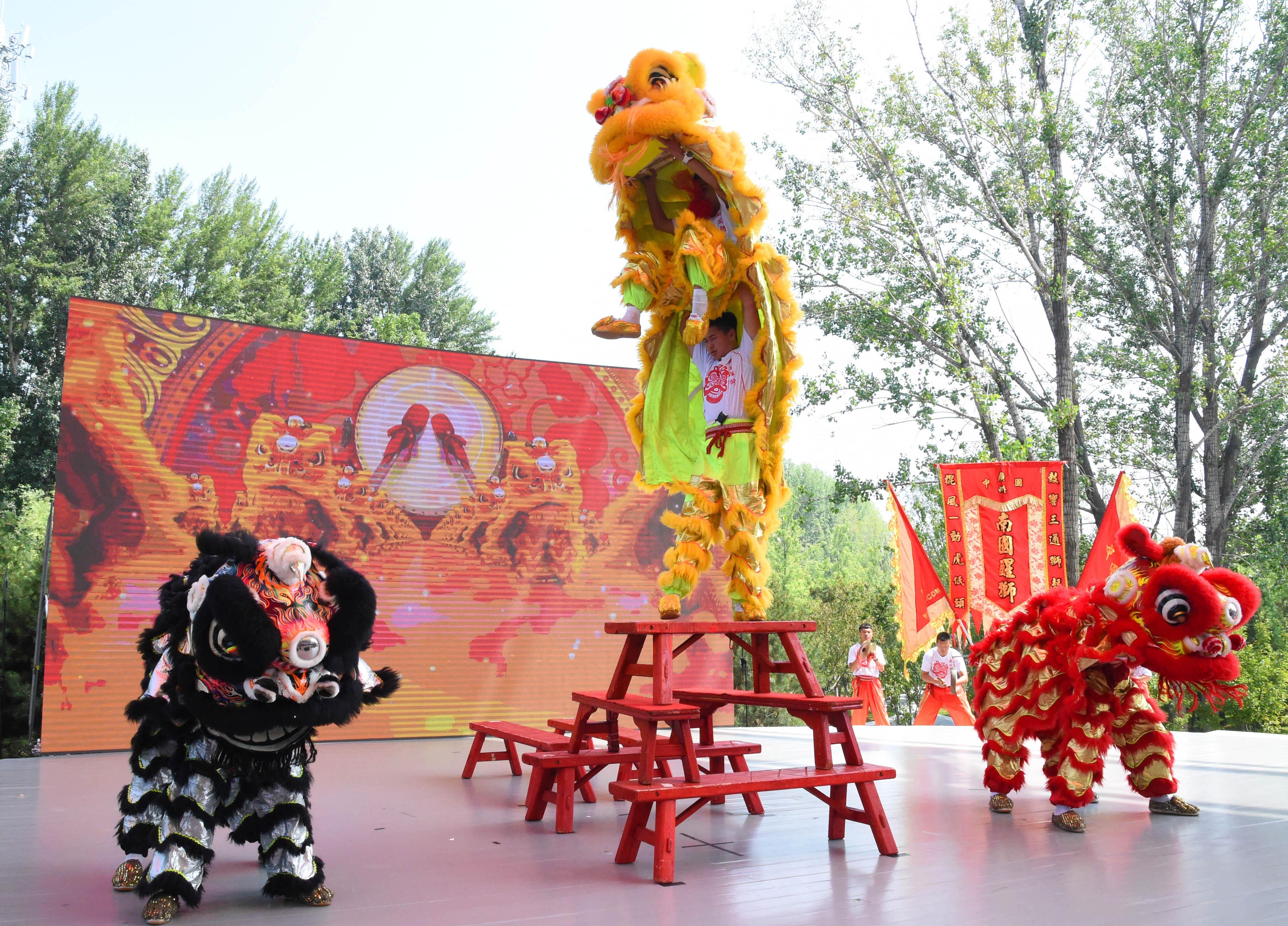 在北京世园会觅 清凉世界 感受 南粤风情图片