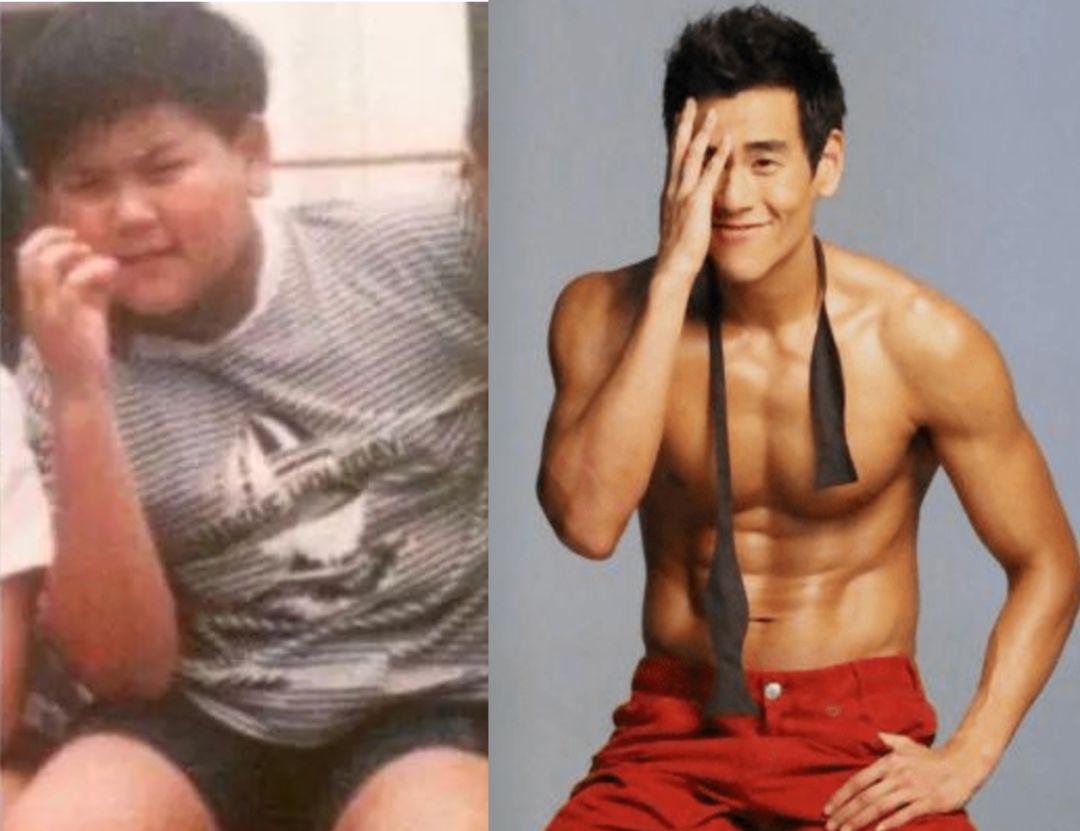 谁说只有女生要保持身材 男生如果胖起来,堪比 毁容式 发福
