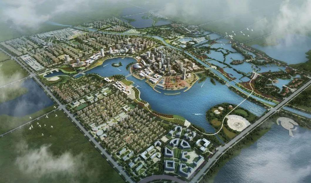 枣庄东湖片区规划图