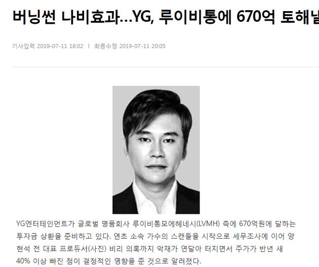 YG半年内股价下跌40%