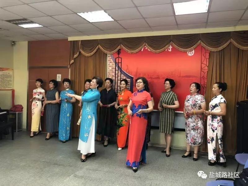 湛山街道第八届社区嘉年华   _盐城路社区八音河合唱团演唱会