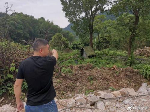 浙江一重点工程未经批复开工 将村民房屋拆除