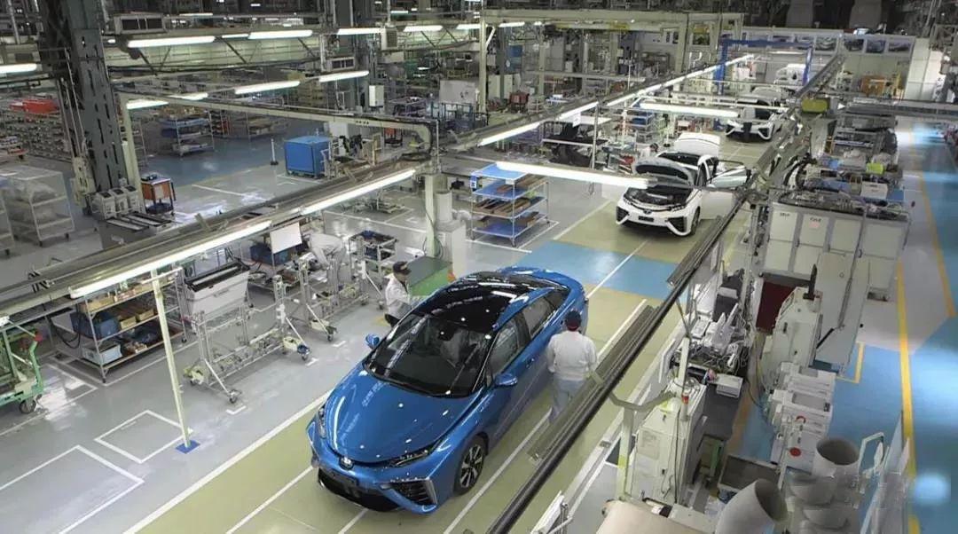 丰田氢能源汽车制造工厂