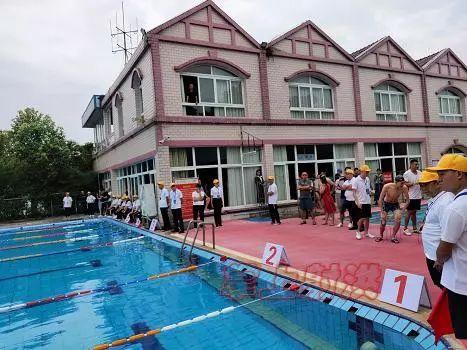 我县举行2019年职工运动会游泳比赛