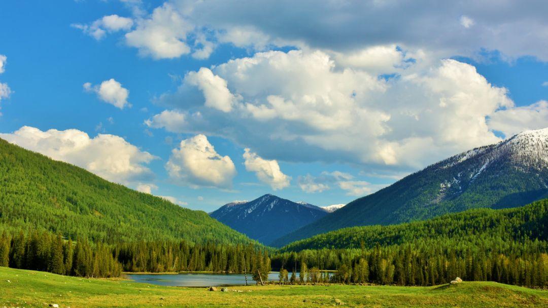 从荒漠到天山、从初春到深秋。这里的每一帧都美得像画卷!