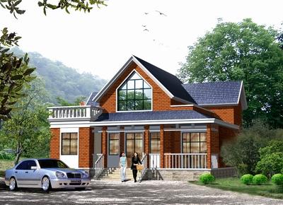 农村88平房子设计图