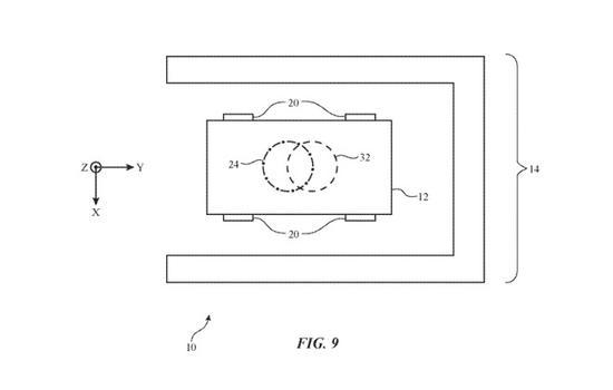 苹果自动驾驶汽车新专利曝光 可实现无线充电