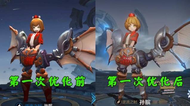 官宣孙膑新模型,半年优化2次!玩家:不是每人都有个苦逼的身世