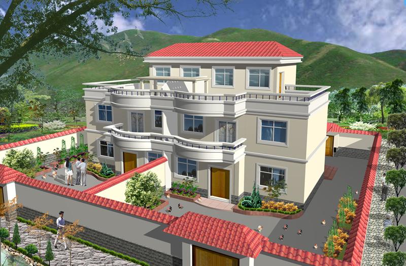 兄弟农村合建房设计图