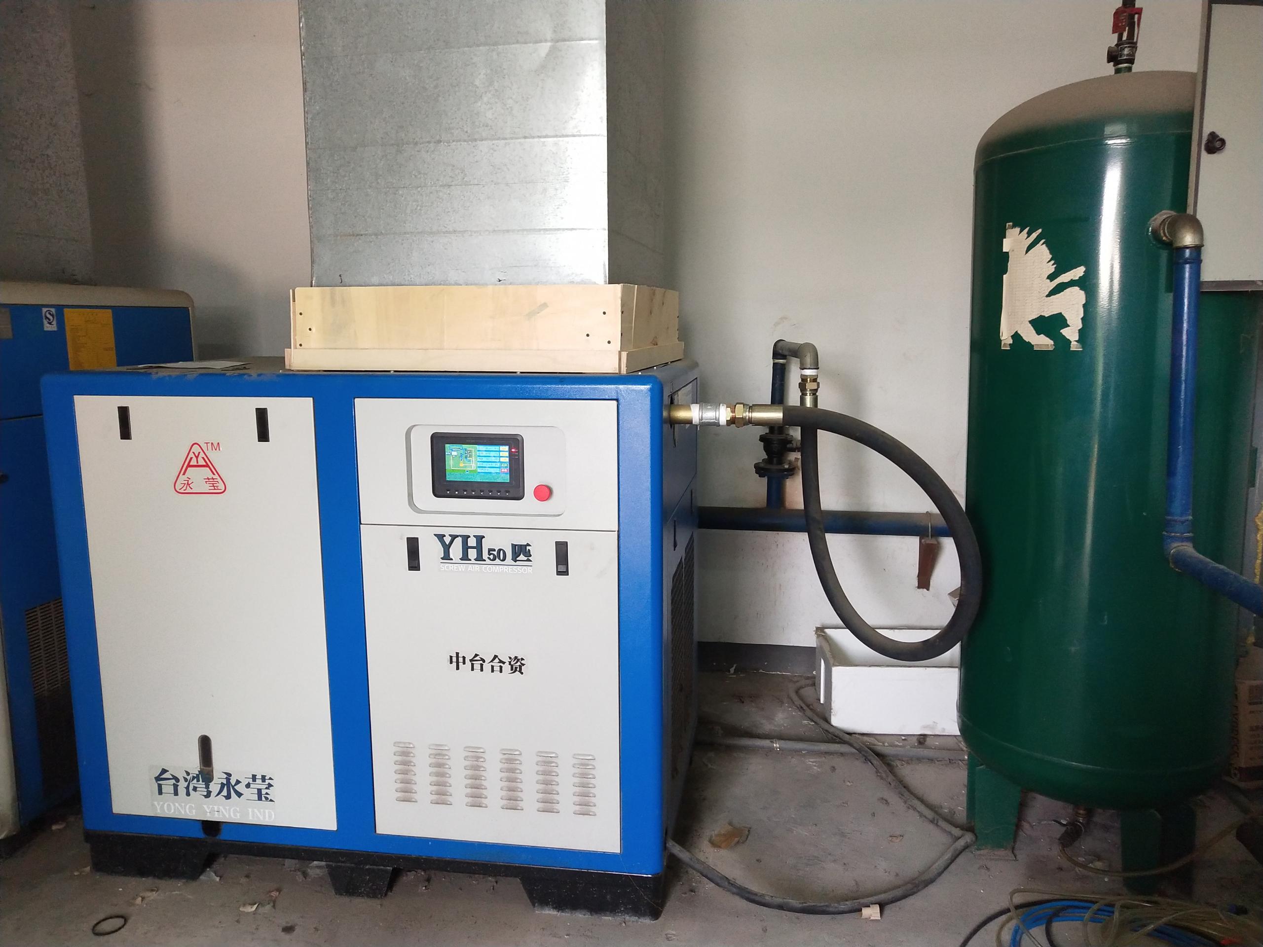 富达螺杆空压机:空压机最常见的标准配置送你检测新机