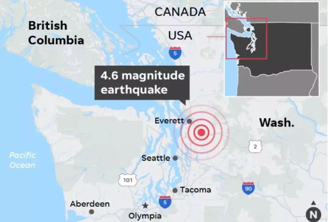 突发|西雅图、洛杉矶同一天地震!专家警告或有9级地震风险