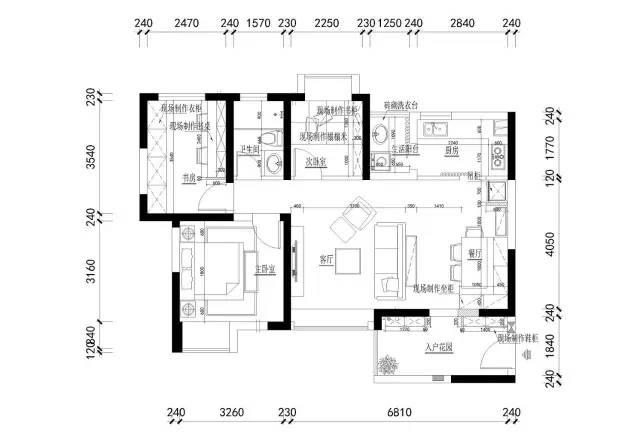 92平的北欧风小三房案例,布局紧凑而又实用的家!