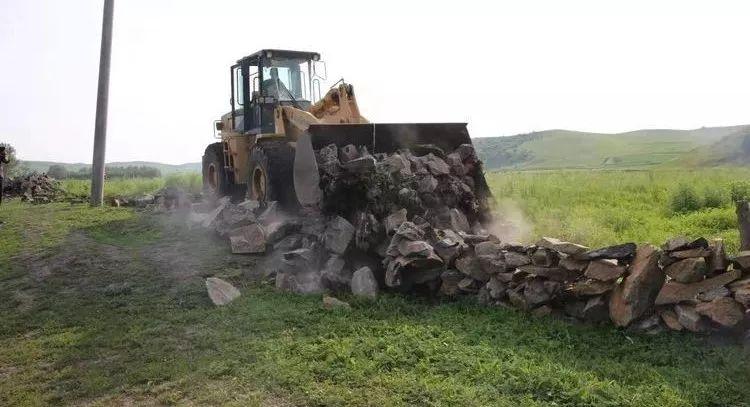 乡村振兴丨扎旗整顿草原上违法建筑物和构筑物专项行动成效显著