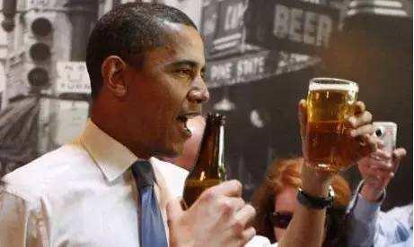什么,美国前总统都在喝精酿鲜啤?