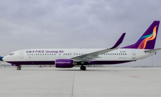 <b>暑运首周 乌鲁木齐航空运送旅客达5万人次</b>