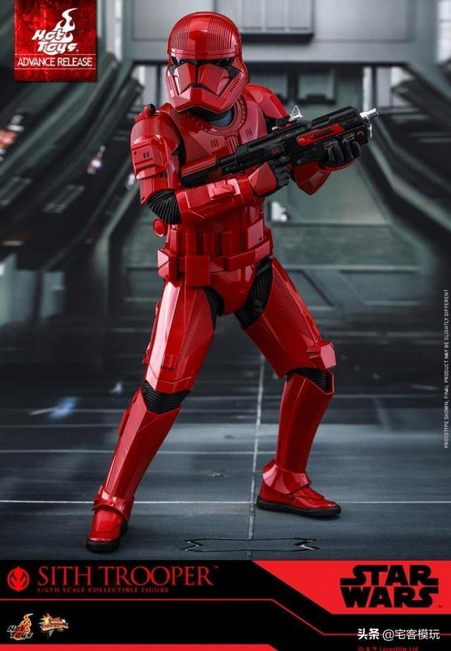 模玩资讯:HotToys《星球大战:天行者的崛起》西斯士兵