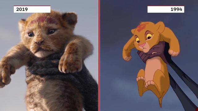真人版 狮子王 来袭 变身大型 吸猫现场 ,今天你脸盲了吗