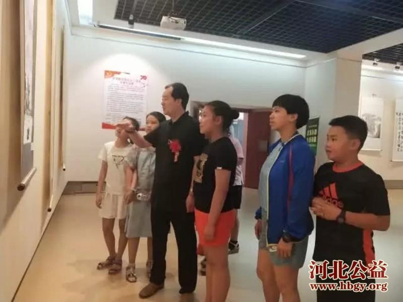 """河北省美术研究会""""庆祝新中国成立70周年书画展""""开幕"""