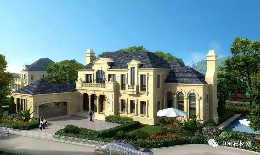 大理石打造欧式别墅豪宅实景案例