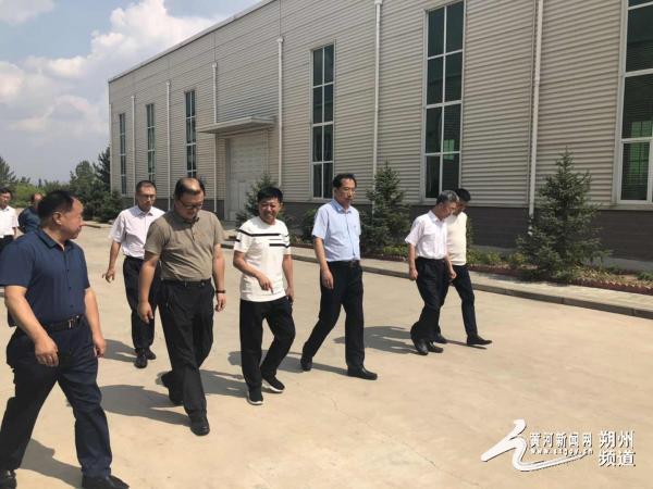 农业农村部科教司副司长李波来朔调研