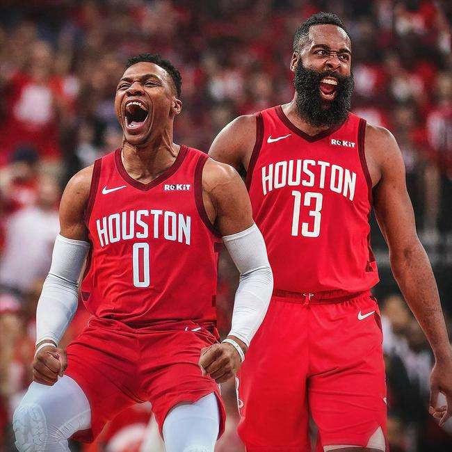 近年来NBA的兄弟篮球!哈登威少火箭重逢,詹姆斯开启巅峰抱团