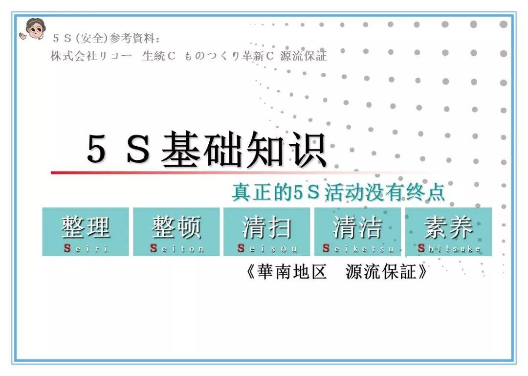 PPT】5S基础知识(中文)_管理
