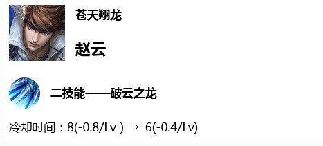 <b>体验服:达摩爆炸加强重回S8,赵云登榜T1,成蓝领打野霸主!</b>