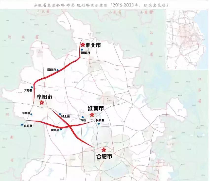 霍邱2020年城区规划图