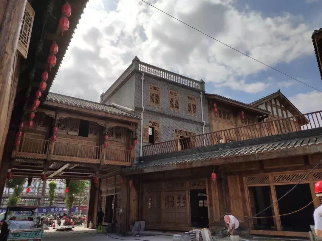 将至桐城_桐梓修建桐城记忆风情小镇,8月8号之前完工,总投资3.