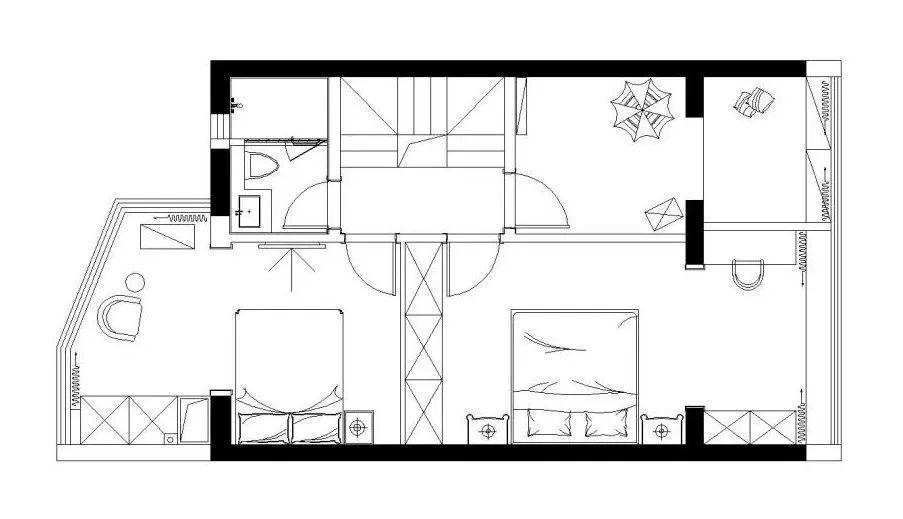 90平方一层平房设计图