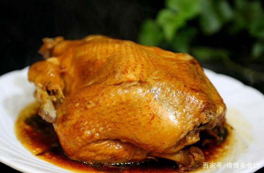 想吃烧鸡电饭锅就能做,不用水和油,出锅差点连骨头都吃了!