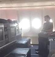 """国航回应""""女子自称监督员大闹机舱""""事件_旅客"""