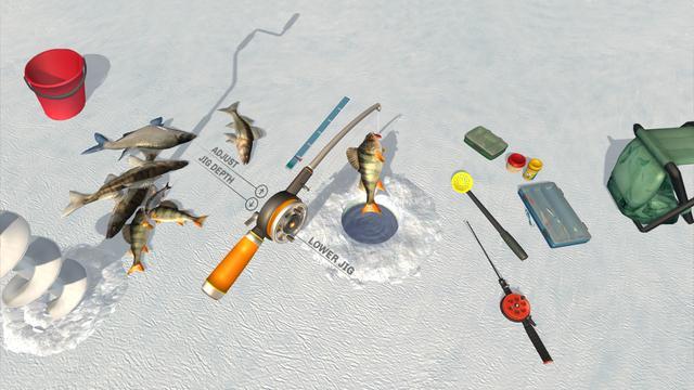 《冰湖钓鱼》让玩家体验钓鱼乐趣 怎样才能钓到鱼?