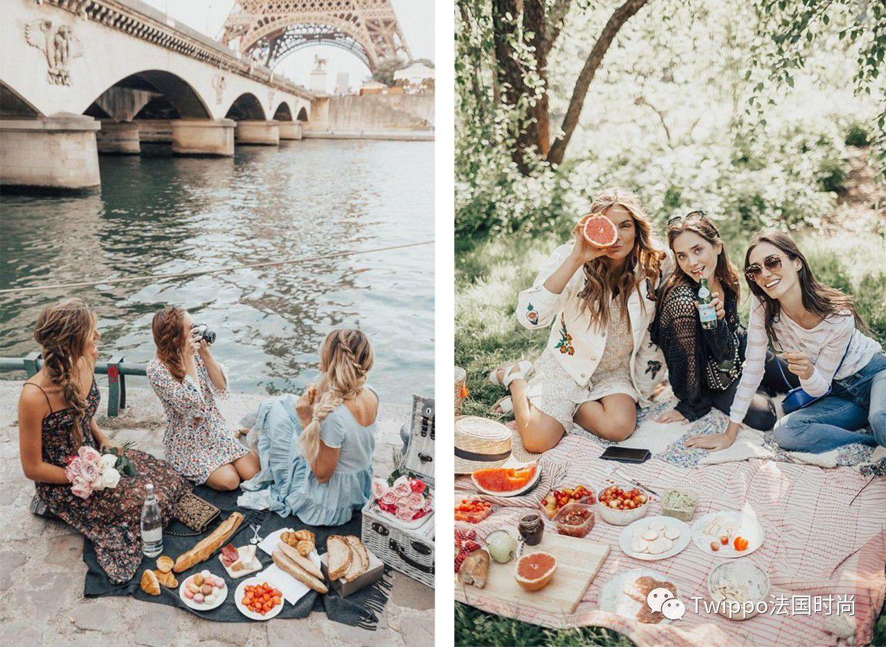 法国人把国庆过成了情人节…_野餐