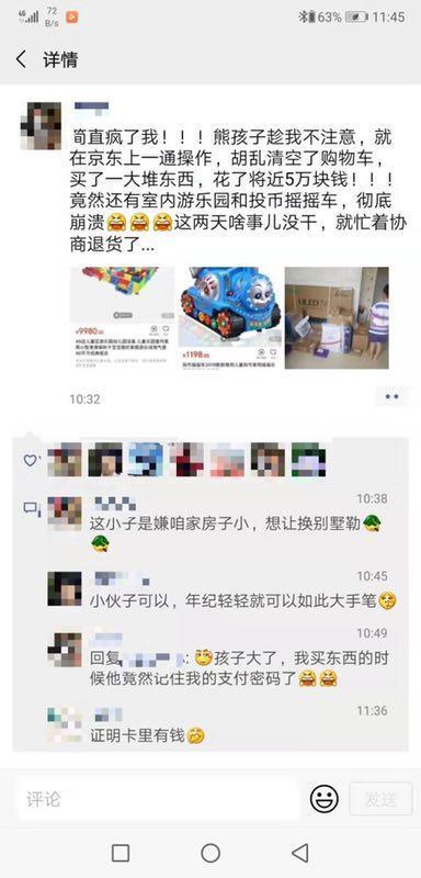 全球AG亚游平台娱乐趁妈妈不注意网购4万多元商品 包括很多游乐园设备