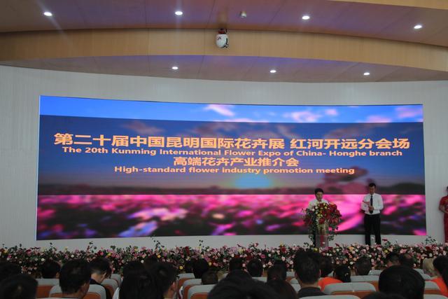 云上花开,数以致远——第十二届中国昆明国际花卉展红河开远分会场开幕