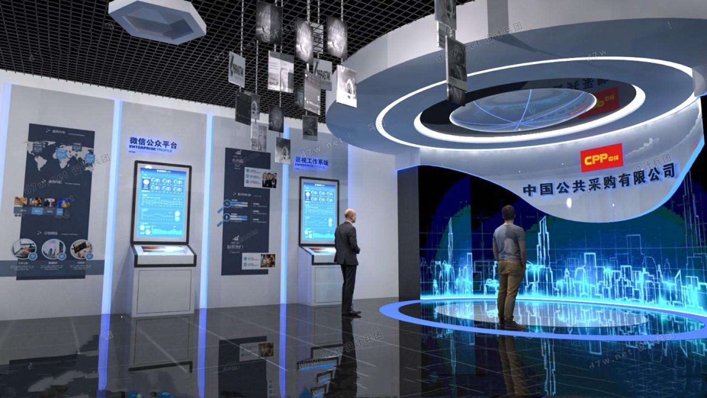 山东济南未来科技展厅布置装修装饰设计搭建施工公司